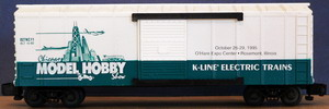 K-Line Boxcars